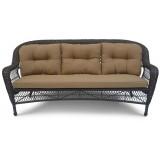 Плетеный диван LV216-1 Brown/Beige