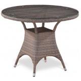 Плетеный стол T220CGT-W1289-D96 Pale