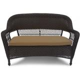 Плетеный диван LV130-1 Brown/Beige