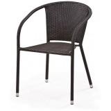 Плетеное кресло Y137C-W51 Brown