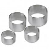 Кольцо для выкладки гарнира, 6*9 см, металл, Stadter