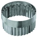 Высечка «Кольцо» гофрированая без ручки, 10*5,5 см