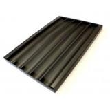 Противень багетный 600х400мм алюминиевый перфорированный UNOX TG 435