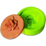 Силиконовая форма «Розы», d 6,8 см, h 2 см