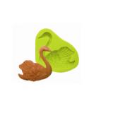 Силиконовая форма «Лебедь», 7*5 см
