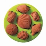 Силиконовая форма «Ракушки», 8,5*2 см