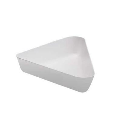 Салатник 4,2 л. 380*508*64 мм белый,поликарбонат Cambro
