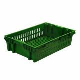 Ящик хлебный, 60*40*15 см, зеленый
