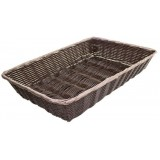 Подставка для выкладки коричневая прямоугольная 66х24х6,5см