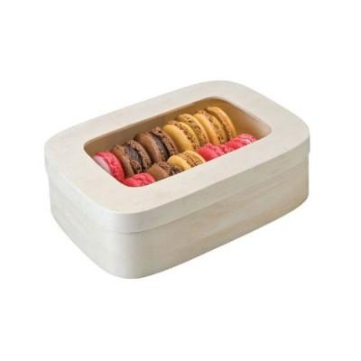 Коробка для 10-12 макарон, 18*12,8*5 см