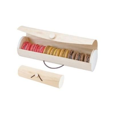Коробка для 7-9 макарон, 6*22,5 см