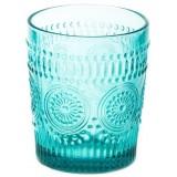 Стакан для виски 300 мл голубой